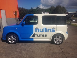 Mullins Tyres Cube